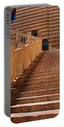 Staircase At Scala Della Ragione - Verona Italy Portable Battery Charger
