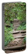 Stairs Going Up Hillside Portable Battery Charger