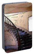 Stairway -  Meade Hotel - Bannack Mt Portable Battery Charger