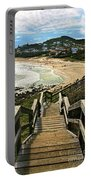 Stairway To Beach Portable Battery Charger