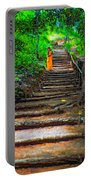 Stairway To Heaven Impasto Portable Battery Charger