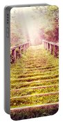 Stairway To The Garden Portable Battery Charger