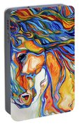 Stallion Southwest By M Baldwin Portable Battery Charger