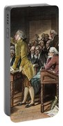 Stamp Act: Patrick Henry Portable Battery Charger