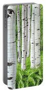 Stand Of Birch Portable Battery Charger