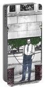 Standing On A Corner In Asheville Carolina Portable Battery Charger