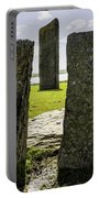 Standing Stones Of Stenness Portable Battery Charger
