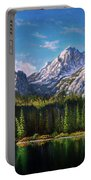 Stanley Lake Reflections Portable Battery Charger