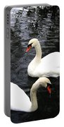 Stanley Park Swans Portable Battery Charger