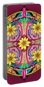 Star Flower Portable Battery Charger