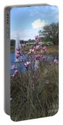 Star Magnolia Blooms Portable Battery Charger
