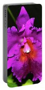 Star Of Bethlehem Orchid 006 Portable Battery Charger