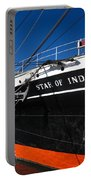 Star Of India Tall Ship San Diego Bay Portable Battery Charger