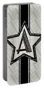 Star Of The Show Art Deco Monogram Portable Battery Charger