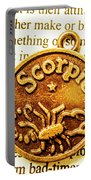 Star Sign In Scorpio Portable Battery Charger