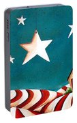 Star Spangled Portable Battery Charger