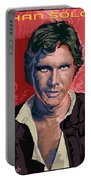 Star Wars Han Solo Pop Art Portrait Portable Battery Charger