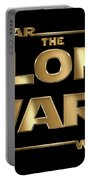 Star Wars The Clone Wars Typography Portable Battery Charger