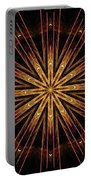 Starburst Sand Painting Portable Battery Charger