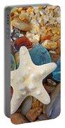 Starfish Art Prints Star Fish Seaglass Sea Glass Portable Battery Charger