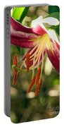 Stargazer Lily 02 Portable Battery Charger