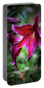 Asiatic Lily Portable Battery Charger