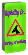 Staring Bigstock Donkey 171252860 Portable Battery Charger