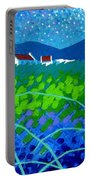 Starry Night In Wicklow Portable Battery Charger