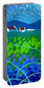 Starry Night In Wicklow Portable Battery Charger by John  Nolan