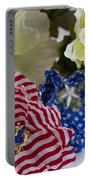 Stars And Stripes Bouquet Portable Battery Charger
