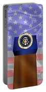 State Of The Union Podium Portable Battery Charger