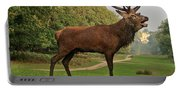 Stately Stag Portable Battery Charger