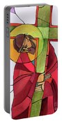 Stations Of The Cross - 02 Jesus Accepts The Cross - Mmjcs Portable Battery Charger