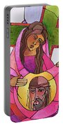 Stations Of The Cross - 06 St. Veronica Wipes The Face Of Jesus - Mmvew Portable Battery Charger