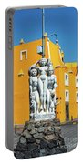 Statue And Yellow Theater Portable Battery Charger