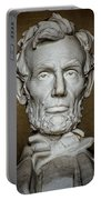 Statue Of Abraham Lincoln - Lincoln Memorial #7 Portable Battery Charger