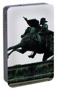 Statue Of Archduke Charles, Heldenplatz, Vienna Portable Battery Charger