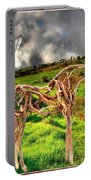 Statue Of Branches 3 Portable Battery Charger