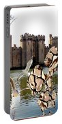 Statue Of Fish 112 Portable Battery Charger