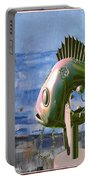 Statue Of Fish 113 Portable Battery Charger