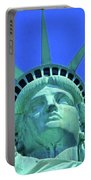 Statue Of Liberty 19 Portable Battery Charger