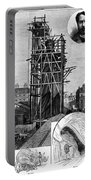 Statue Of Liberty, C1884 Portable Battery Charger