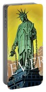 Statue Of Liberty In Chains -- Never Portable Battery Charger