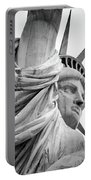 Statue Of Liberty, Lateral Portrait Portable Battery Charger