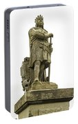Statue Of Robert The Bruce Stirling Castle Portable Battery Charger