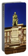 Statue Of William Of Orange On The Plein - The Hague Portable Battery Charger