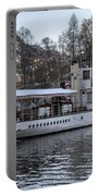 Steam Boat On Loch Katrine Portable Battery Charger