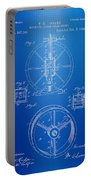 Steam Engine Blueprint Portable Battery Charger