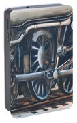 Steam Engine Wheels Portable Battery Charger