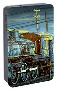 Steam Locomotive Train Engine No.1395 In Infrared Portable Battery Charger
